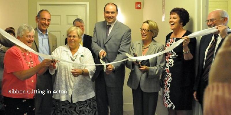 Ribbon Cutting in Acton