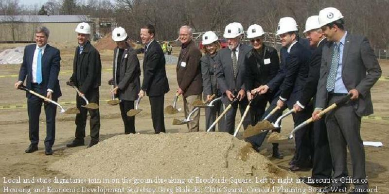 Groundbreaking in Concord