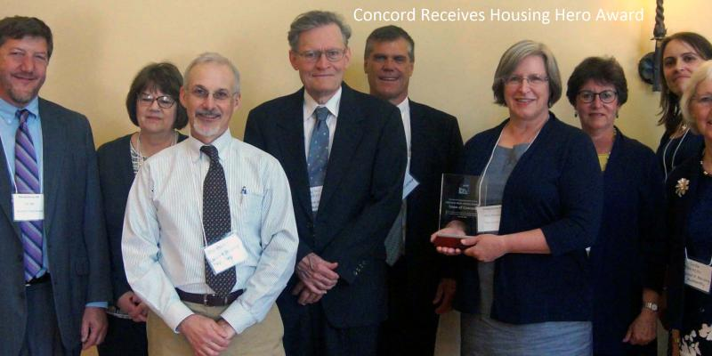 Concord Housing Hero Award from MHP