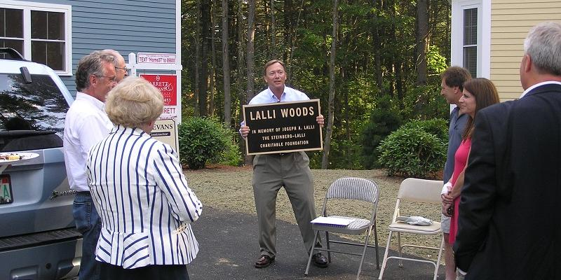 Lalli Wood Dedication in Concord